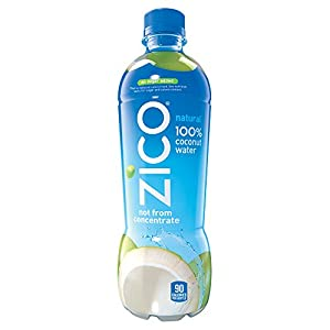 Zico Coconut Water, Natural, 16.9 Ounce (Pack of 12)