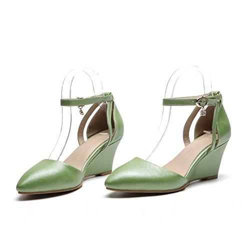 Compensées 5 BalaMasa Femme Sandales 36 Vert ASL05506 Green xxw6Cqz0