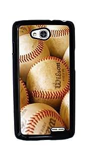 MLB Baseball Hard Case for LG Optimus L90 ( Sugar Skull )