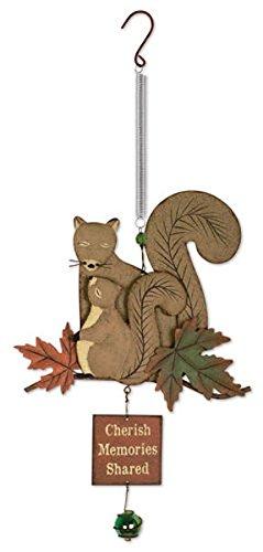 Vista Squirrel - Sunset Vista Designs Squirrel Family Bouncy Hanging Decoration