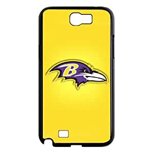 Samsung Galaxy Note 2 N7100 Phone Case Sports NFL Baltimore Ravens Protective Cell Phone Cases Cover DFL600024