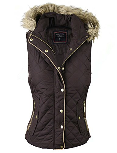Quilted Down Vest Jacket - 7