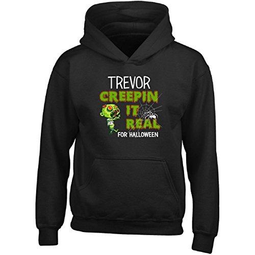 Halloween Trevor Costume (Trevor Creepin It Real Funny Halloween Costume Gift - Girl Girls)