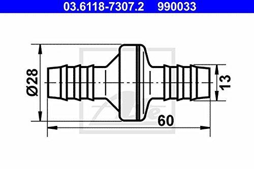 ATE 03.6118-7307.2 Ventil, Unterdruckleitung Continental AG
