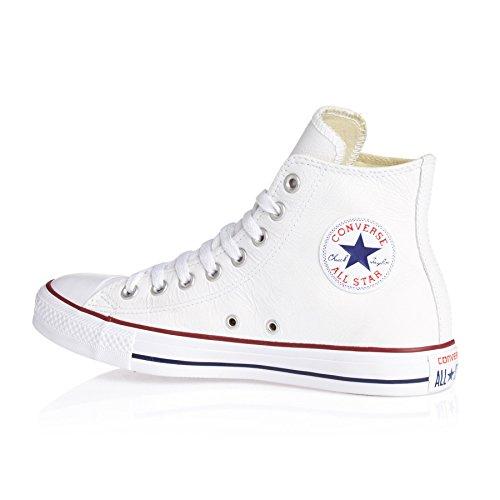 Converse Ct Core Lea Hi 236580-55-8 - Zapatillas unisex Blanco (Blanc)