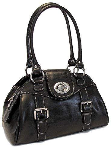 017317501b05 Black Floto Procida Handbag  Handbags  Amazon.com