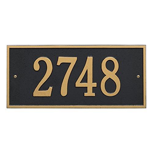 Custom Hartford 1 Line Address Plaque 16