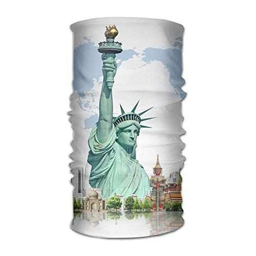 Fashion New Headwear Headband Statue Of Liberty Head Scarf Wrap Sweatband Sport Headscarves For Men Women