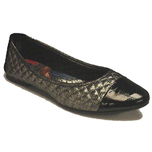 Born Riley Womens Flats Shoes B73497 Size 6.5 D (Standard Width) Silver