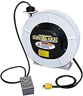 product image for Saf-T-Lite 4550-5101 Power Supply, 50ft Cord, 5505 Industrial Grade Reel, Duplex