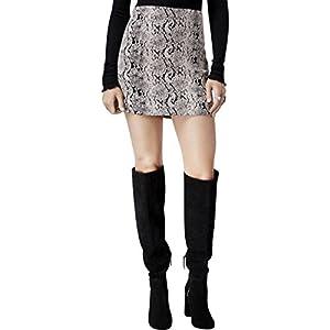 Free People Womens Jacquard Woven Mini Skirt