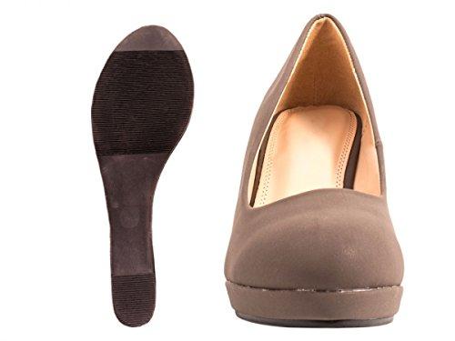 Elara - zapatos de tacón Mujer gris