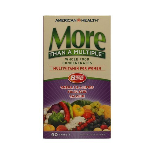 American Health More Than A Multiple Whole Food Concentrates For Women - 90 by American Health