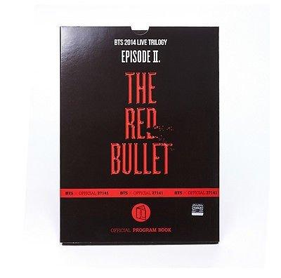 [BTS 2014 Live Trilogy OFFICIAL GOODS] RED BULLET : PROGRAM BOOK