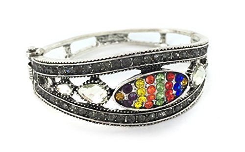 Jeweled Cuff Bracelet - Pioneer Plus Young Women Values Jeweled Cuff Bracelet - Celebrate Young Women with This Elegant and Sturdy Bracelet
