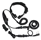 Baofeng VOX headset throat mic earpiece UV-5R UV-5RA Plus UV-5RB 888S 777S 666S