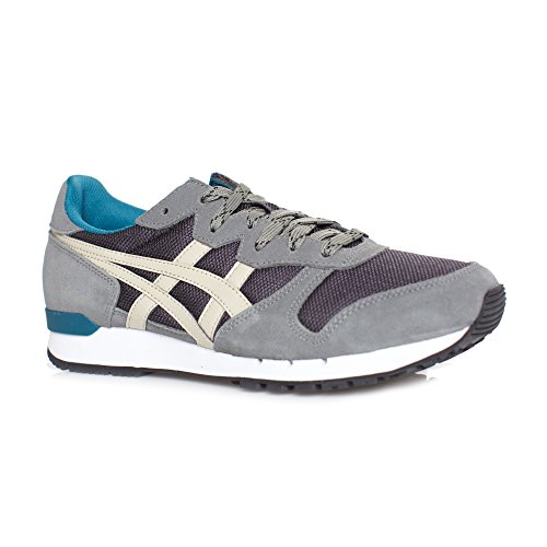 Onitsuka Tiger Mens Alvarado Fashion Sneaker Nero / Latte