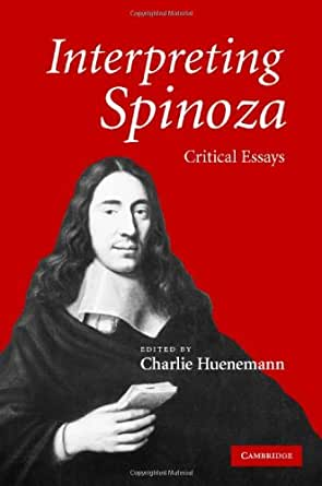 interpreting spinoza critical essays As deleuze's influential interpretation maintains, hegel exemplifies and promotes the modern cults of death, while spinoza embodies an irrepressible appetite for living hegel is the figure of negation, while spinoza is the thinker of pure affirmation.