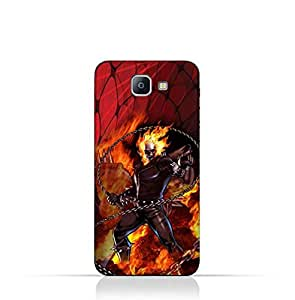 Samsung Galaxy A9 Pro TPU Protective Silicone Case With Ghost Rider Design