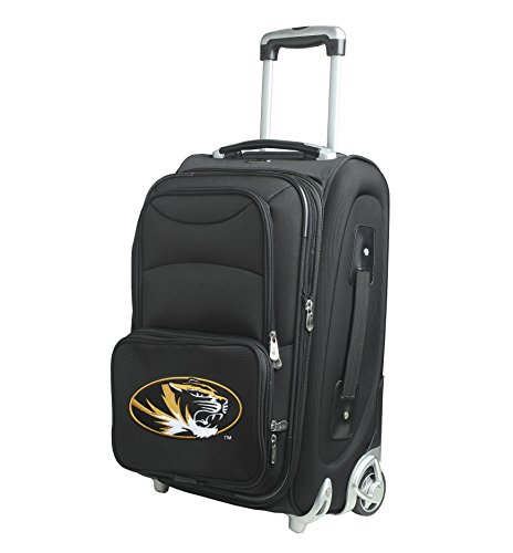 NCAA Missouri Tigers In-Line Skate Wheel Carry-On Luggage, 21-Inch, (21' Expandable 2 Wheel)
