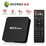 Android 9.0 TV Box, Leelbox 2019 Update Android Box 4GB RAM 32GB ROM