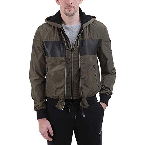[マッカージュ] メンズ ジャケット&ブルゾン Weston Color Block Hooded Bomber Jacket [並行輸入品] B07DHN7JY6 46