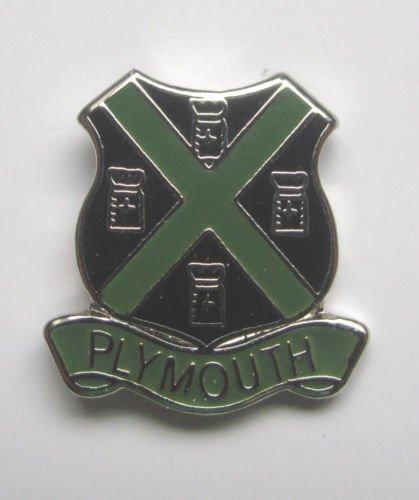 Plymouth-Gifts Épinglette émaillée Emblems-Gifts
