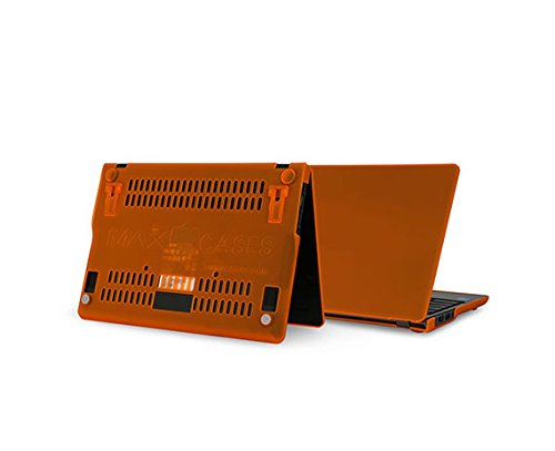 Eol Max Cases Snap Shell For Acer C720 11 Inch  Light Weight Shell Offers Impact   Scratch Protection  Pop Up Feet For An Ergonomic Typing Angle   Orange