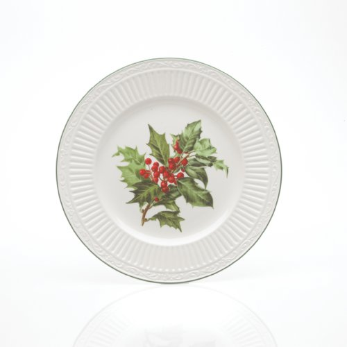 - Mikasa Italian Countryside Holly 7-3/4-Inch Salad Plate