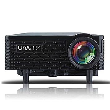 Uhappy U18 Mini LCD proyector 500lm 320 x 240 píxeles con Earphone ...