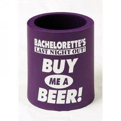 Bachelorette Last Night Out Coolie (Package Of 8)