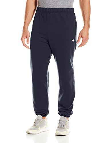 Champion LIFE Men's Reverse Weave Sweatpant w/Pockets, Navy, Medium