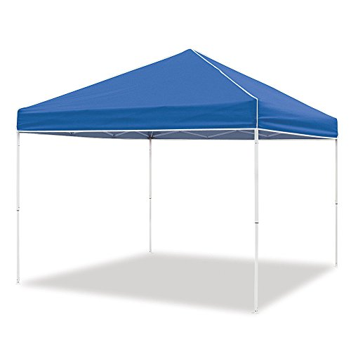 Z-Shade 10 x 10 Foot Everest Instant Canopy Outdoor Camping Patio Shelter, Blue by Z-Shade