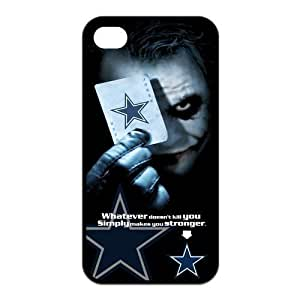 NFL Dallas Cowboys With Joker Poker Unique Design For Iphone 6 Plus 5.5 inch Cover TPU Silicone Back Case For Christmas Gifts