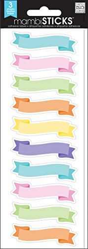 me & my BIG ideas Pastel Banner Label]()