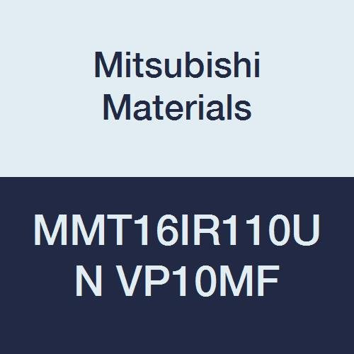 American UN Type Mitsubishi Materials MMT16IR110UN VP10MF MMT Series Carbide G-Class Internal Ground Threading Insert Right 1.1 mm Pitch Pack of 5 9.525 mm IC Grade VP10MF