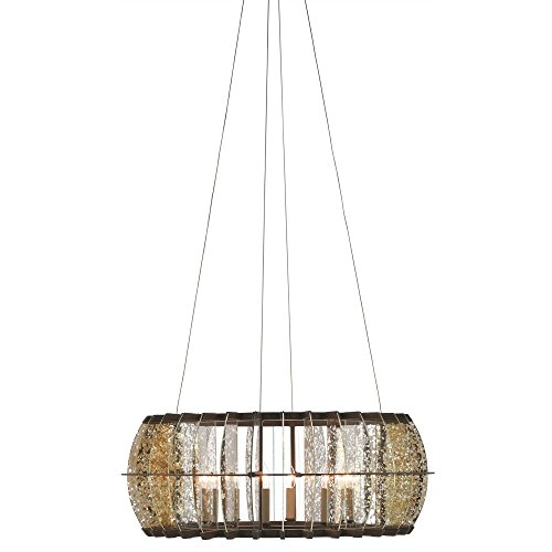 Amazon.com: Currey & Company Lighting Zanzibar - Lámpara de ...