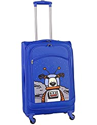 Ed Heck Moon Dog Spinner Luggage 28 Inch, True Blue, One Size