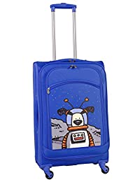 Ed Heck Moon Dog Spinner Luggage 25-Inch, True Blue, One Size