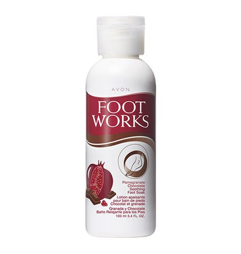 Foot Works Pomegranate & Chocolate Soothing Foot Soak by Foot Works