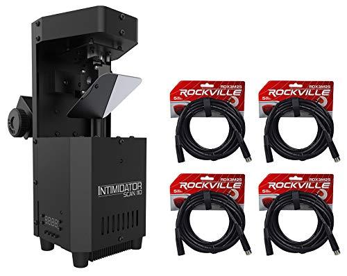 Chauvet Intimidator Scan 110 Compact LED Scanner Effect Light+(4) DMX - Scanner Professional Dmx