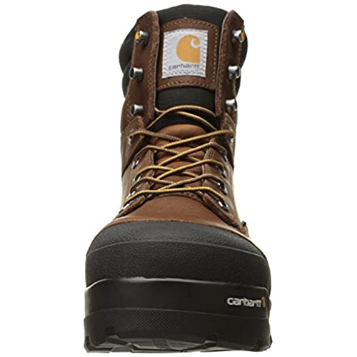 a179bcd2397 Carhartt Men's Ground Force 6-Inch Brown Waterproof Work Boot ...