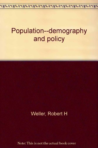 Population--demography and policy