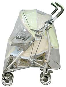 Bambisol HPU - Cubierta para carrito de bebé, transparente