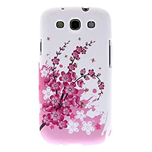 AES - Pink Peach Blossom Pattern Hard Case for Samsung Galaxy S3 I9300