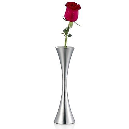 Amazon Mylifeunit Metal Flower Vase Hourglass Bud Vases Home