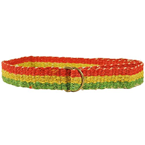 Organic-Rasta-Reggae-Hemp-Belt-one-Size