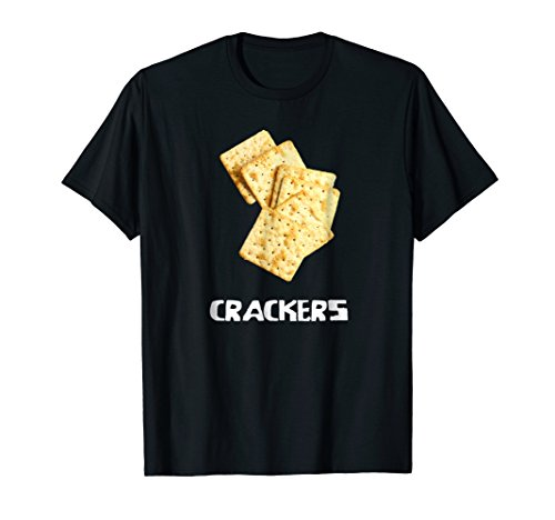 Crackers Couple Costume T Shirt - Cheese and Crackers -