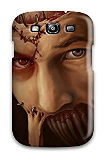 Faddish Phone Patchedup Frankenstein Dark Creature Abstract Dark Case For Galaxy S3 / Perfect Case Cover
