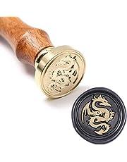UNIQOOO Arts & Crafts The Flying Dragon Wax Seal Stamp & Gift Set
